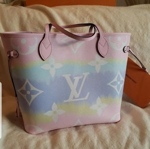 Escale Neverfull Pastel Pink Bag Only, No Pouch